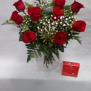 Flores con amor